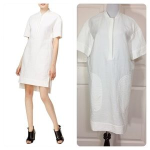 NWT! DKNY Womens Shirtdress High Low